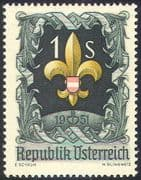 Austria 1951 Scouts/ Jamboree/ Scouting/ Youth/ Leisure 1v (n42044)