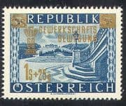 Austria 1953 Trade Unions  /  Workers  /  Palace  /  Buildings 1v o  /  p (n34732)
