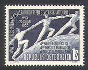 Austria 1955 Trade Unions  /  Workers  /  Congress  /  Industry  /  People 1v (n37933)