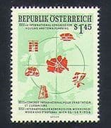 Austria 1956 Town Planning  /  Buildings  /  Animation 1v (n33743)
