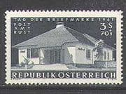 Austria 1961 Post Office  /  Stamp Day  /  Building/ Architecture 1v (n24330)