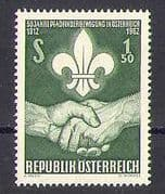 Austria 1962 Scouts  /  Scouting  /  Youth  /  Leisure 1v (n25301)
