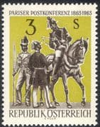 Austria 1963 Horse/ Rider/ Courier/ Postmen/ Animals/ Postal Conference/ Transport 1v (n24751)