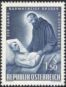 Austria 1964 Brothers of Mercy/ Medical/ Welfare/ Health/ People 1v (at1065a)