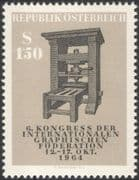 Austria 1964 Graphical Federation/ Printing Press/ Print/ Communications 1v (at1048a)