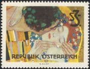 Austria 1964 Gustav Klimt/ Artists/ Art/ Painting/ Woman/ Contemporary/ Viennese Secession Museum 1v (at1056a)