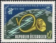 Austria 1969 Post/ Telegraph/ Trade Union/ Trades Unions/ Workers/ Industry/ People 1v (at1055a)