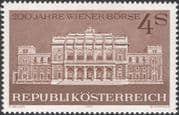 Austria 1971 Stock Exchange/ Business/ Commerce/ Buildings/ Architecture 1v (at1109a)