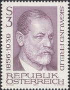 Austria 1981 Sigmund Freud/ Medical/ Health/ Welfare/ People/ Doctors 1v (at1163a)