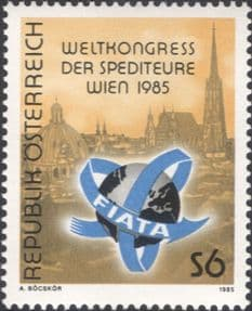 Austria 1985  Forwarding Agents Congress/ Transport/ Business/ Industry  1v  (at1190a)