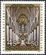 Austria 1985 Linz Diocese 20th Anniversary/ Cathedral/ Buildings/ Architecture/ Religion 1v (n44446)