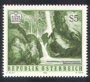 Austria 1986 National Parks  /  River  /  Falls  /  Waterfall  /  Nature  /  Conservation 1v n38589
