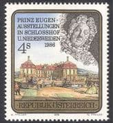 Austria 1986 Prince Eugen  /  Palace  /  Buildings  /  Architecture  /  Royalty  /  People 1v n33659