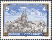 Austria 1986 Weather/ Meteorology/ Observatory/ Mountains/ Nature 1v (n44343)