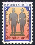 Austria 1987 Equality  /  People  /  Human Rights  /  Social Culture  /  Animation 1v (n34892)