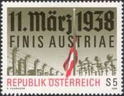Austria 1988 Annexation/ Barbed Wire/ Flag/ Crosses/ WWII/ War/ Military 1v (at1144a)