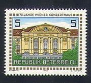 Austria 1988 Concert Hall  /  Buildings  /  Architecture  /  Music  /  Animation 1v (n33646)