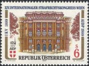 Austria 1989 Law Congress/ Palace of Justice/ Buildings/ Architecture 1v (at1140a)