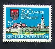 Austria 1989 Radstadt  /  Buildings  /  Architecture  /  City Walls  /  Church  /  Tower 1v (n33653)