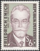 Austria 1990 Friedrich Emich/ Chemist/ Science/ Chemistry/ Scientists 1v (at1089a)