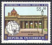 Austria 1992 Ombudsmen  /  Palace  /  Buildings  /  Architecture  /  People 1v (n40872)