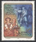 Austria 1992 Zeller  /  Millocker  /  Music  /  Composers  /  Opera  /  Singing 1v (n40734)