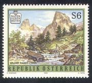 Austria 1993 National Parks  /  Mountains  /  Trees  /  Environment  /  Nature 1v (n38603)