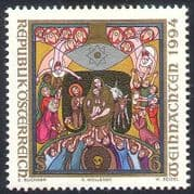 Austria 1994 Christmas  /  Nativity  /  Art 1v (n21284)