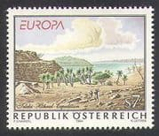 Austria 1994 Europa  /  Exploration  /  Palm Trees  /  lake  /  Nature  /  Plants 1v (n38064)
