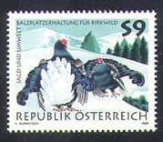 Austria 1998 Grouse/ Birds/ Nature/ Hunting/ Environment/ Conservation 1v (n37644)