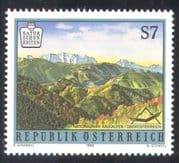 Austria 1998 National Parks/ Trees/Forest/ Mountains/Nature/ Environment 1v n38609