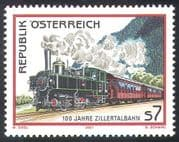 Austria 2001 Trains/ Steam Engine/ Locomotives/ Railways/ Rail/ Transport 1v (n23505)