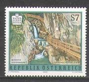 Austria 2001 Waterfalls/ Gorge/ Falls/ River/ Nature/ Tourism 1v (n24752)