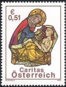 Austria 2002 Caritas/ Charity/ Health/ Welfare/ Medical/ People/ Animation 1v (at1145)