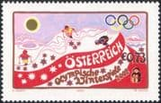 Austria 2002 Winter Olympic Games/ Sports/ Olympics/ Skiing/ Animation 1v (at1142)