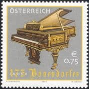 Austria 2003 Bosendorfer/ Piano/ Musical Instruments/ Music/ Business/ Commerce/ Industry 1v (at1147)