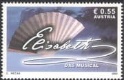 """Austria 2003 """"Elisabeth the Musical""""/ Fan/ Music/ Singing/ Theatre/ Composers/ Fans 1v (at1042)"""