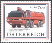 Austria 2003 Fire Engines/ Emergency Rescue Vehicles/Fire Fighting/ Motoring/ Transport 1v (n44377)