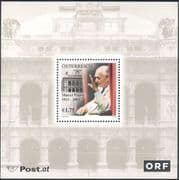Austria 2003 Marcel Prawy/ Music/ Opera/ Musicians/ People/ Buildings 1v m/s (n44420)