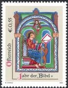Austria 2003 Year of the Bible/ Religion/ Apostle/ Art/ Painting/ Books 1v (n44398)