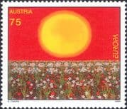 Austria 2004  Europa/ Holidays/ Sun/ Flowers/ Art/ Paintings/ Poster  1v  (at1208a)