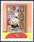 Austria 2004 TomTom/ Snail/ Cartoons/ Animation/ Music/ Trumpet/ Musical Instruments/ Greetings 1v (at1133)