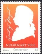 Austria 2006 Wolfgang Amadeus Mozart/ Music/ Composers/ Entertainment/ Opera/ People 1v (at1057)