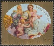 Austria 2007 Christmas/ Greetings/ Holy Child/ Painting/ Art/ Artists 1v (at1116)