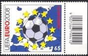 Austria 2008 EURO 2008 Football Championships/ Ball/ Map/ Stars/ Soccer 1v (at1076)