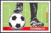Austria 2008 EURO 2008 Football Championships/ Ball/ Pitch/ Soccer/ Animation/ Art 1v (at1077)