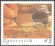 Austria 2008 Europa/ Letters/ Pen/ Writing/ Hand/ Post/ Mail/ Communications 1v (at1235)