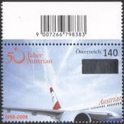 Austria 2008 Planes/ Aircraft/ Airline/ Aviation/ Business/ Commerce 1v (at1090)
