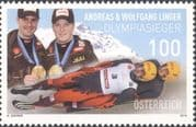 Austria 2010 Luge/ Medal Winners/ Winter Olympic Games/ Olympics/ Sports 1v (at1241)
