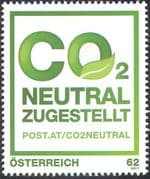 Austria 2011 CO2 (Carbon Dioxide) Neutral Post & Mail Delivery/ Environment/ Conservation 1v (n42437)